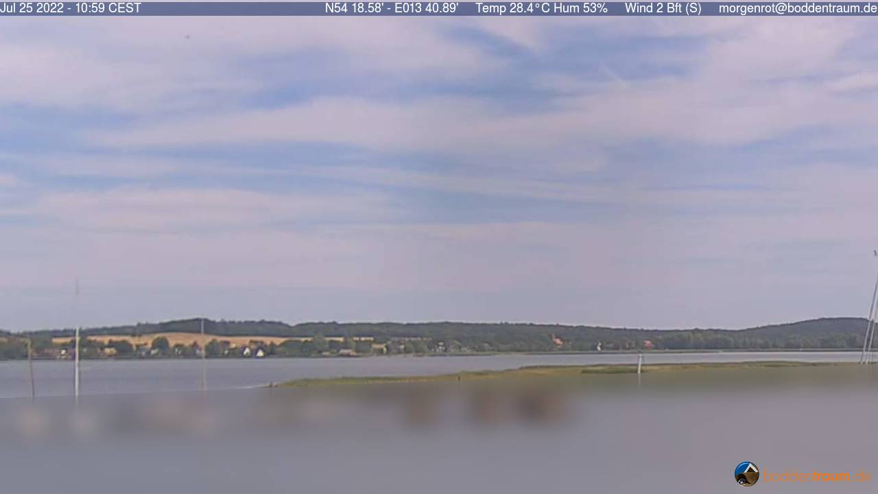 Webcam Morgenrot